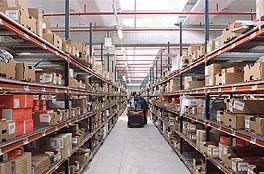 现代化仓库的出现带动着货架的发展